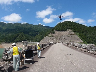 UAV(無人航空機)による空撮