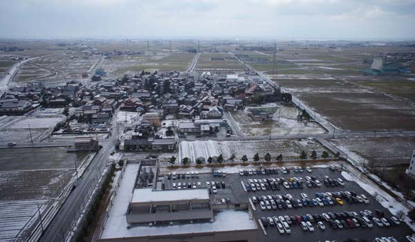 UAV空撮写真