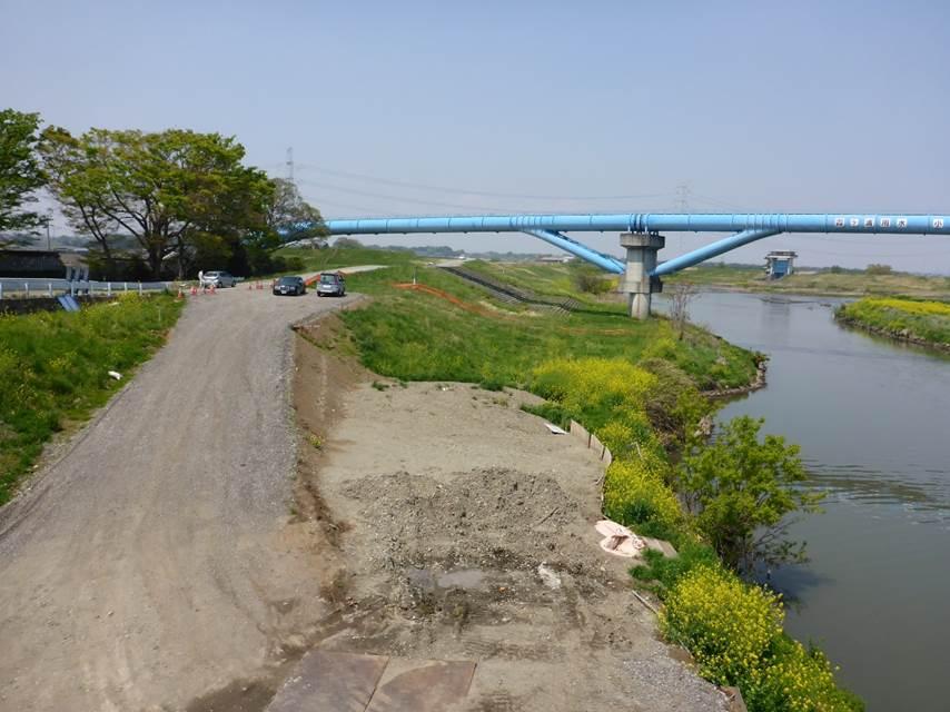 小貝川水管橋他 耐震対策検討業務