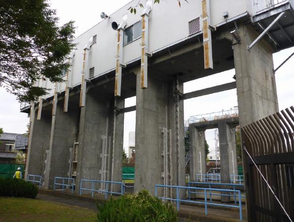 大規模地震対策朝霞水路新河岸川横断一号サイホン外耐震補強実施設計業務