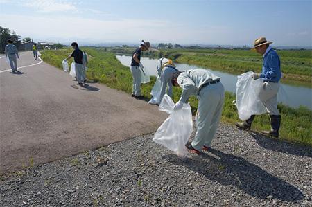 清掃ボランティア活動