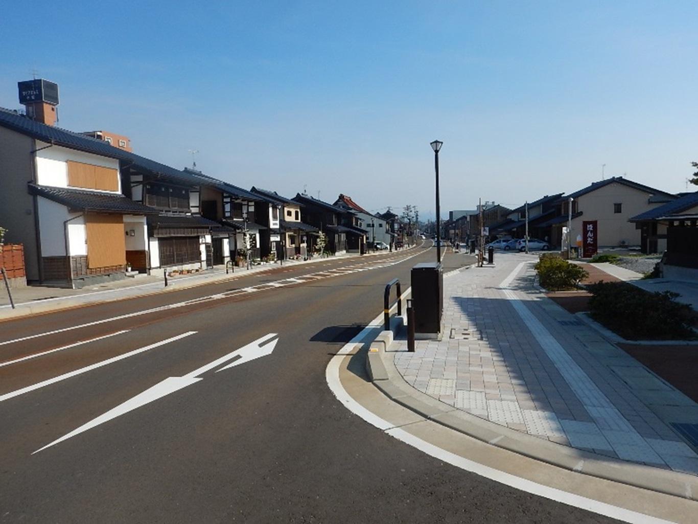 都市計画道路根上小松線 街路整備工事(設計)業務委託