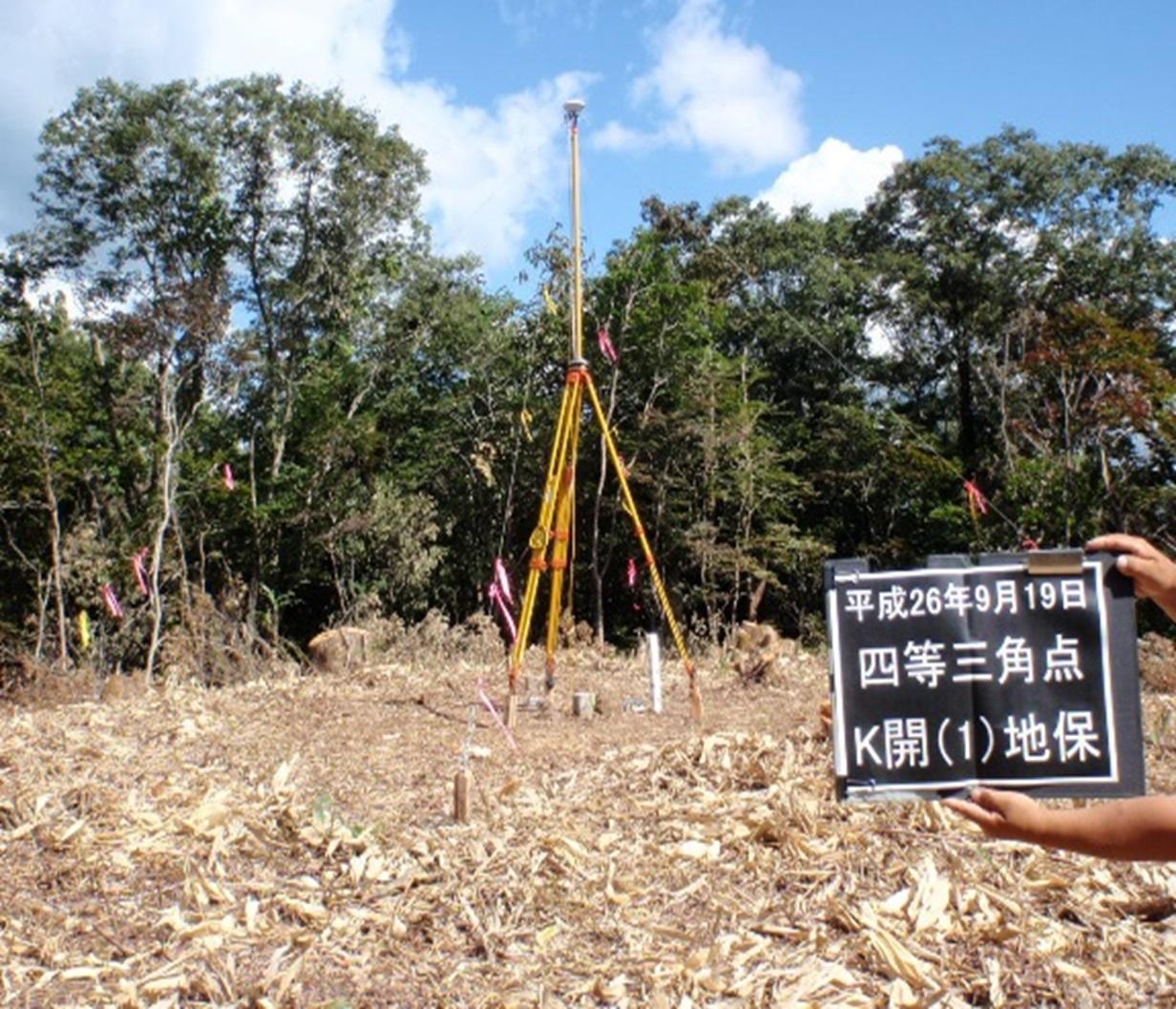 国土調査に伴う基準点測量(富山県射水地区外5地区)
