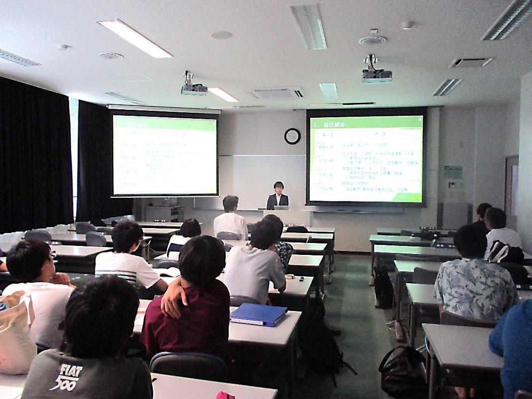 技術士合格までの取り組みについて金沢大学及び石川工業高等専門学校で発表しました