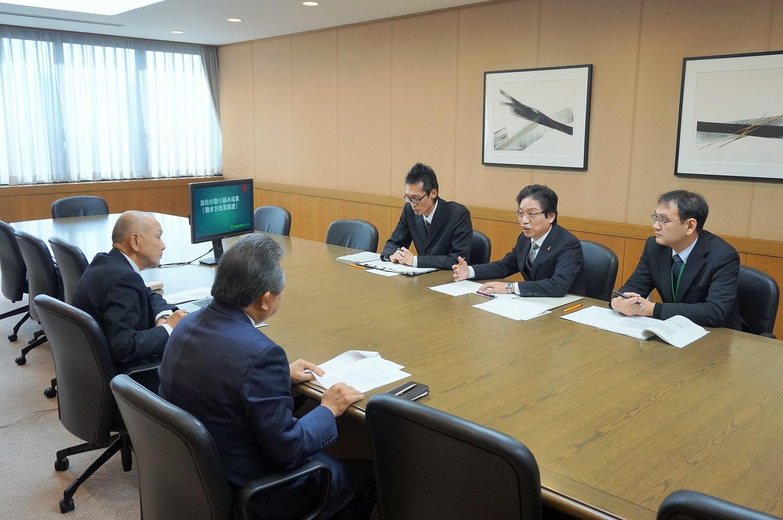 石川労働局長が来訪されました(ベストプラクティス企業訪問)