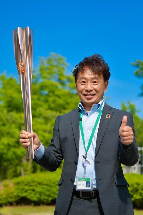 弊社取締役 西川透が、東京五輪聖火リレーイベントに参加しました