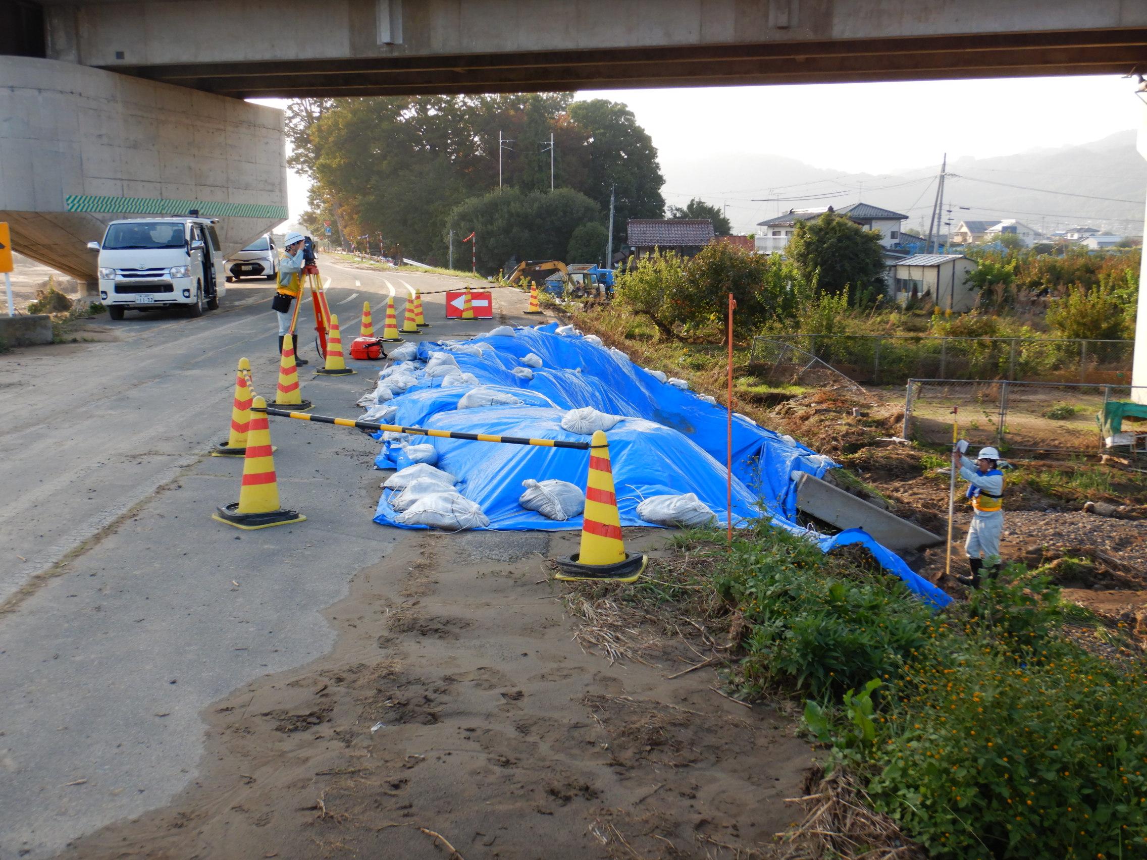 令和元年台風第19号千曲川測量等(その14)業務