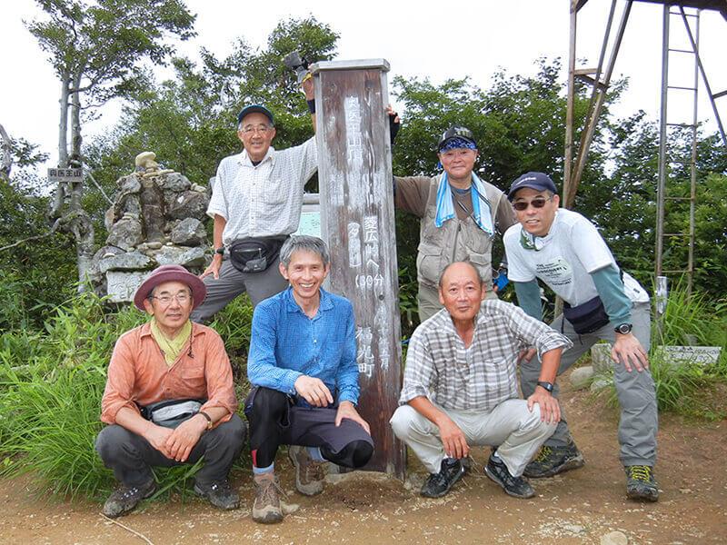 【トレッキングクラブ】奥医王山に登りました。