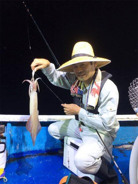 【釣りクラブ】イカが釣れました。