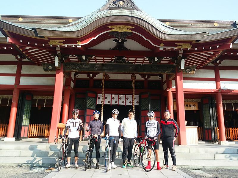 【サイクリングクラブ】各地へ自転車で訪れています。
