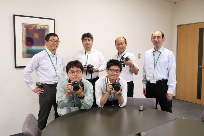【写真倶楽部】会社周辺などで撮影会を開催しています。